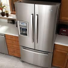 cabinet depth refrigerator dimensions refrigerator amazing counter depth french door refrigerator