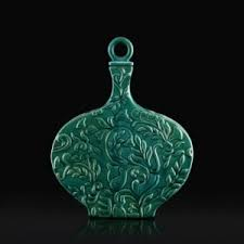 ceramic jar address home buy teal aurelie ceramic decor jar