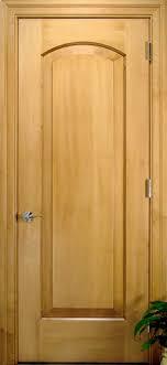 Solid Maple Interior Doors Arch 1 Panel Solid Wood Maple Door Traditional Interior Doors