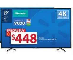 tv black friday sales hisense 55inch class smart 4k uhd tv deal at walmart u0027s black