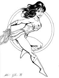 wonder woman coloring pages 1 olegandreev me