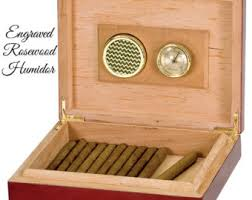 engravable box engraved cigar box etsy