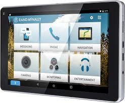 rand mcnally overdryve 7 connected car tablet with gps black
