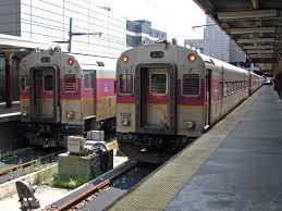 Commuter Rail by Mbta Commuter Rail Two Mbta Commuter Rail Trains At Boston U2026 Flickr