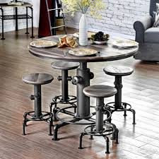 industrial style pub table trent austin design malta counter height pub table products