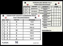 two table progressive tally director teacher club software bridge tally cd
