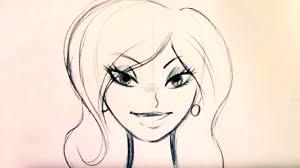 beautiful cartoon women art how to draw a beautiful woman step by step youtube