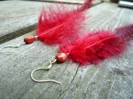 how to make feather earrings with how to make feather earrings and simple jewelry