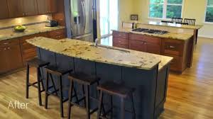 Kitchen Cabinets Northern Virginia Before And After Kitchen Addition In Fairfax Northern Virginia