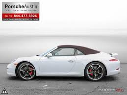 white porsche 911 convertible porsche 911 convertible in for sale used cars on