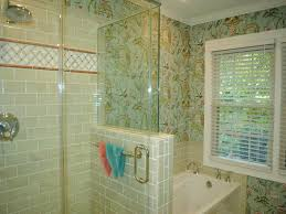 glass tile for bathrooms ideas 23 ideas of glass tile trim bathroom