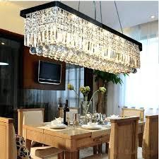 formal dining room light fixtures formal dining room chandelier unique rectangular crystal chandelier