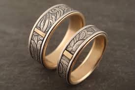 unique metal rings images Down to the wire for unique handmade wedding rings jpg