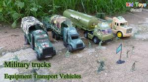 military transport vehicles military trucks equipment transport vehicles and army soldiers