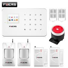 g18 gsm security system alarm wireless magnetic window sensor