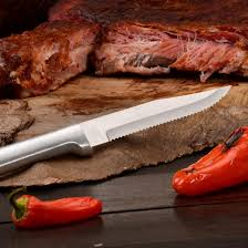 American Made Kitchen Knives Amazon Com Rada Cutlery R105 Serrated Steak Knife With Aluminum