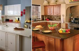 Oak Kitchen Cabinets by Bathroom Minimalist Kitchen Design With Oak Kitchen Cabinets And