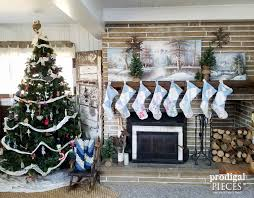 simple christmas decor rustic farmhouse style prodigal pieces