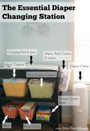 Diaper Organizer For Changing Table 13 Must Have Baby Items For First Time Moms Change Tables
