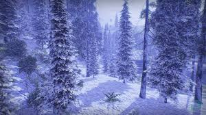 low poly snow forest by dokyo in environments ue4 marketplace