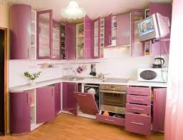 Modern Pink Kitchen Sunken Cooking Area And Hood Unique Green Bar