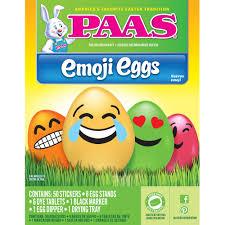 paas easter egg dye paas emoji easter egg dye kit