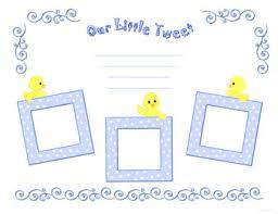 free printable digital scrapbook template pages twitter tweet