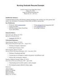 Resume Sample For Nurses Fresh Graduate by Sample Resume New Nursing Graduate Sample Resume Recent Nursing