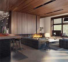 holz wohnzimmer prächtig modern wohnzimmer designs kamin hocker grau holz