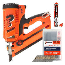 Paslode Coil Roofing Nailer by Battery Charger Paslode The Home Depot