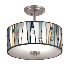 semi flush kitchen light fixtures light large semi flush ceiling light fixtures kitchen lighting