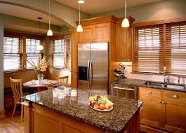 kitchen window blinds ideas decorations kitchen with small wood island and wood