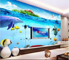Wall Murals 3d Online Get Cheap Sea 3d Wallpapers Aliexpress Com Alibaba Group