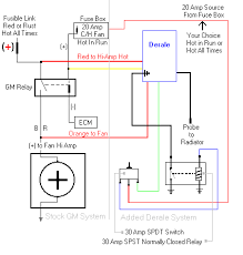 help recreating fan wiring diagram using derale controller u0026 gm