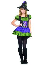 baby wicked witch costume colorful teen witch costume