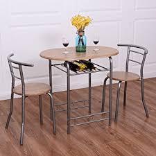 essgruppe küche costway 3tlg küchenbar sitzgruppe essgruppe balkonset küchentisch