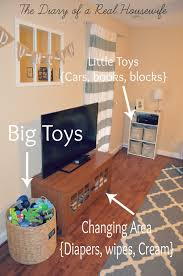 How To Arrange Living Room by How I Organize The Toys In My Living Room Easy Way To Keep It All