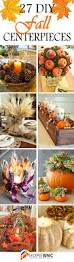 Fall Floral Decorations - 27 best diy fall centerpiece ideas and decorations for 2017