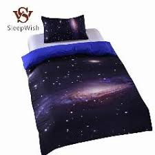 stussy fashion bedding solid dark blue cool bed linen for boys