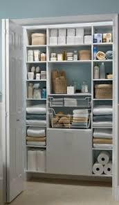 bathroom closet ideas organized bathroom linen closet anyone can kelley nan elfa