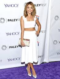 lob hairstyles 2015 do you love it sarah hyland shows of new lob hairstyle