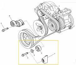 1992 corvette parts c4 drive belt idler pulley lt1 lt4 1992 1996 corvette salvage