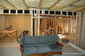How To Insulate Your Basement by Framing Basement Walls Design Preperation And Execution