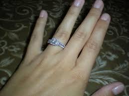 plain engagement ring with diamond wedding band plain wedding band with blingy engagement ring