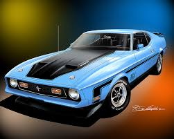 mach 1 mustang convertible 1971 1973 ford mustang prints posters by danny whitfield