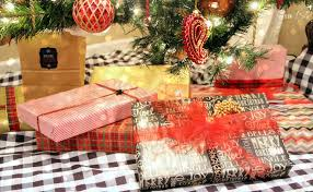 Pretty Christmas Trees Decorated With Presents Wrapping Pretty Presents This Is Our Bliss