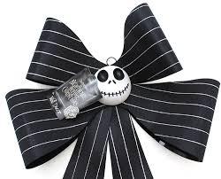 nightmare before christmas ribbon disney tim burton s nightmare before christmas hanging