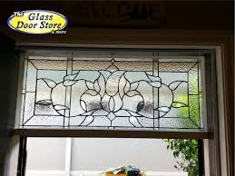 glass door tampa a stained glass transom over the interior french doors the glass