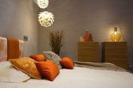 Bedroom Designs Orange And Brown Orange Furniture For Bold And Cheerful Interior Decors