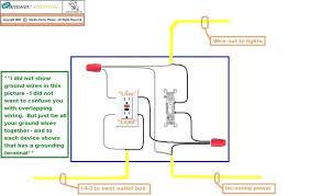 wiring an outlet to a light switch electrical outlet with light duplex devices electrical outlet light